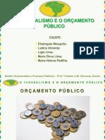 Apresentação Seminário Federalismo e Orçamento Público