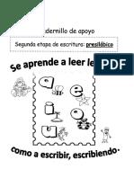 cuadernillo apoyo lectoescritura