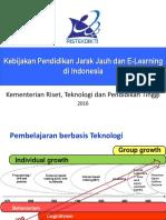 ppt Kebijakan PJJ dan E Learning di Indonesia – KemenristekPT 2016.pdf