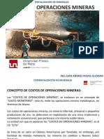 Cap. 11. Costos de Operaciones Mineras