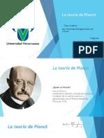 La Teoría de Planck