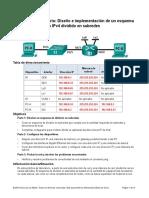 Pacherre Morales Diseño e Implementacion de Un Esquema de Direccionamiento IPv4 Dividido en Subredes