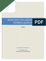RPP PENCERNAAN MODEL PROJECT BASED LEARNING