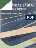 Matema Basica Vectores Matrices