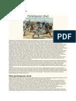 Sejarah Perang Uhud