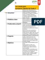 Items de Proyecto, Metodologia Del Diseño