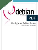 konfigurasi debian server