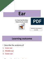 Neuroanatomy of Ear