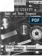 WWII Radar & Comm Equipment