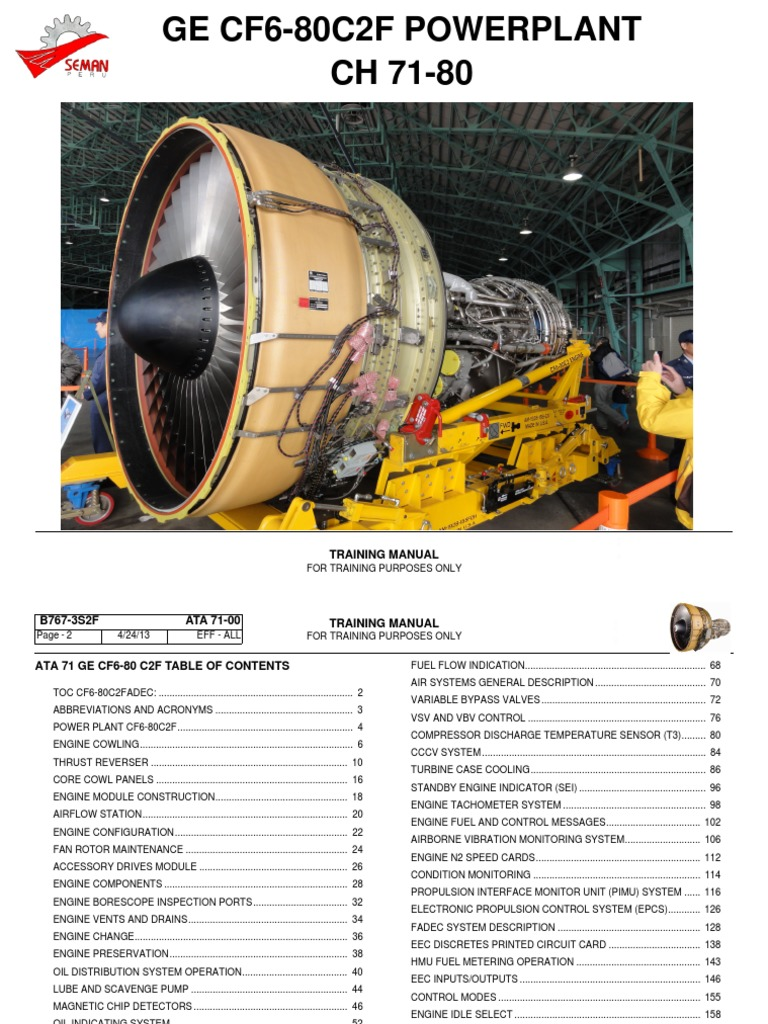 B767-ATA-70-80 | Turbine | Engines