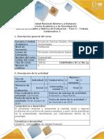 Guía de Actividades y Rúbrica de Evaluación - Fase 3- Trabajo Colaborativo 2