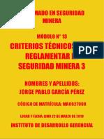 MÓDULO N°13 CRITERIOS TÉCNICOS 3