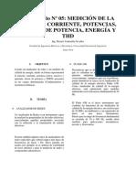 LAB 5 medidas electriccas I