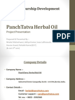 Panchtatva Herbal Oil