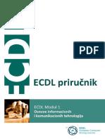ECDL Modul 1 - Osnove IKT - Demo