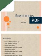 Simplifiers