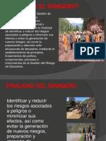 El Sistema Nacional de Gestión de Desastres