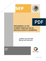 Desarrollo de Competencias en El Bachillerato General-manual_instructor