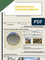 TRADICION PLANIFICACION URBANA