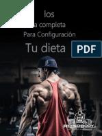 Guia Completa Para La Configuracion de Tu Dieta