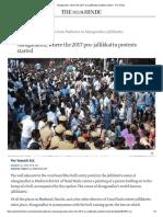 Alanganallur, Where the 2017 Pro-jallikkattu Protests Started