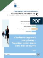Initiatives Citoyennes Européennes