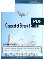 1-Concept of Stress and Strain [March2012]