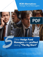 5 Hedge Fund Managers Who Profited During the Big Short 04132016