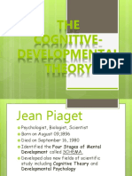 Cognitive Development Report
