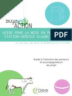 RAEE Guide Mise en Place Station Service BioGNC Agricole Septembre 2016
