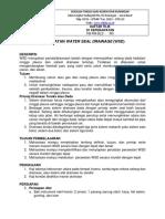 Daftar Tilik Perawatan Water Seal Drainage