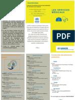 Brochures services médicaux (en français)