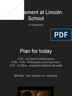 assessment at lincoln  a snapshot  08 22 18