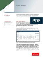 Oracle Treasury Data Sheet