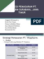 Strategi Pemasaran Pt Vitapharm