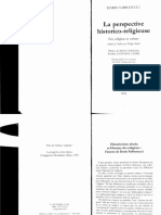 Dario Sabbatucci-La Perspective Historico-religieuse. Foi, Religion Et Culture-Editit (2002)