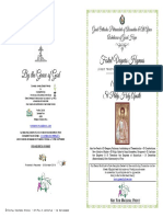 2018 -14 Nov- Vespers-st Philip Apostle