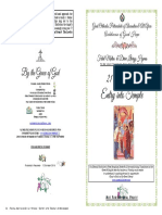 2018 21 Nov Entry Festal Matdivlit Hymns