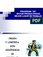 Diapositivas 5 S's - Resumen