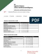 WUT_M.sc. Artificial Intelligence