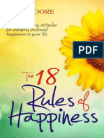 The 18 Rules of  happiness Karl Moore