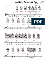 ThereWillNeverBeAnotherYou TedGreene Arr Grids and Notation p1 (1)