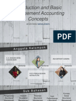 Introduction and Basic Management Accounting Concepts
