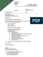 Surat Dan Notis Mesyuarat KK Pengakap
