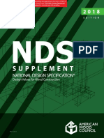 2018 NDS Supplement