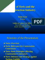 Presentation on Tort-Construction.ppt