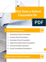 What Does a Counsellor Do?