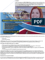 Want To Pass PMI-SP Exam In First Attempt