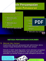 Metode Dokumen Penawaran