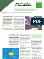 Aprendiendo-por-proyectos-o-proyectando-Aprendizajes. Dosier Graó-Isabel Olmos ColegioMirasur.com. Aula de Innovación Educativa.